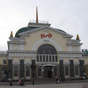 Железнодорожные вокзалы Ижмы